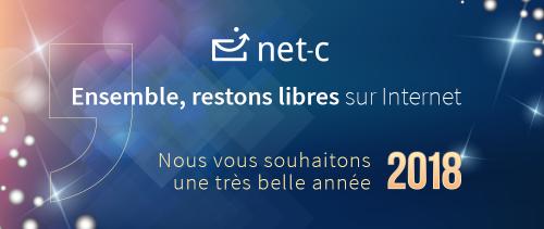 Bonne année 2018 avec Net-C