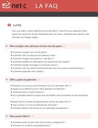 FAQ Net-C