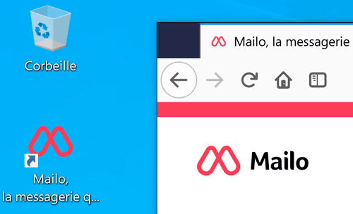 Raccourci Mailo
